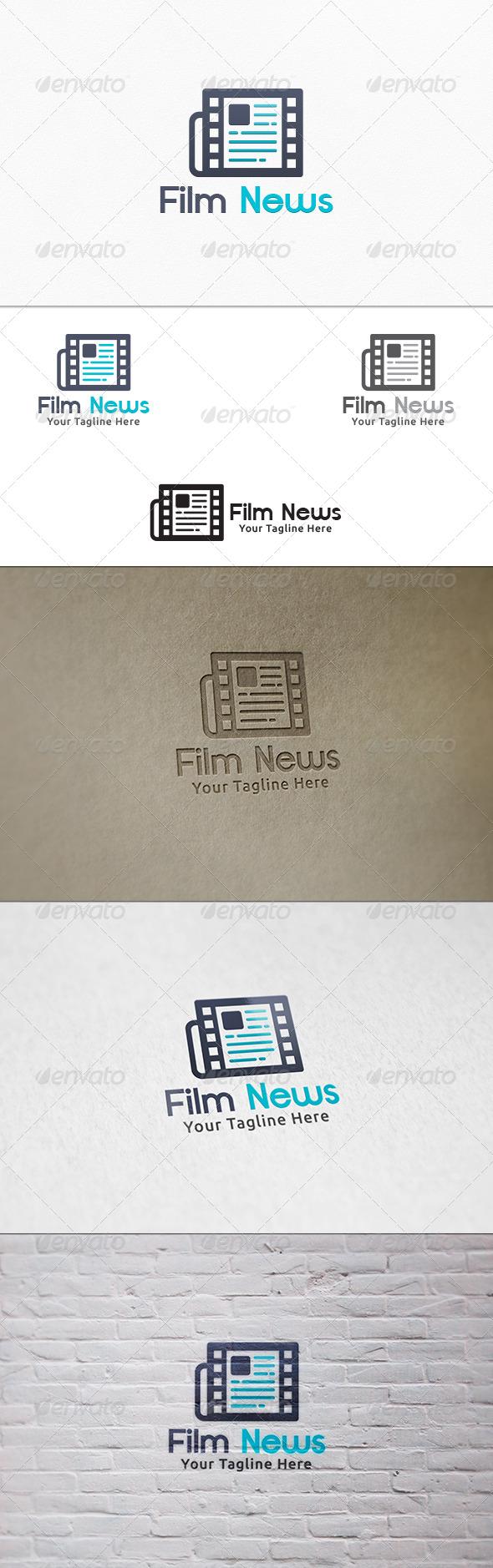 Film News V2 - Logo Template