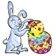 Cartoon Easter bunny - GraphicRiver Item for Sale