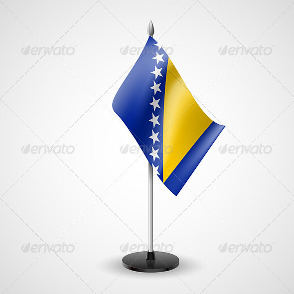 Table Flag of Bosnia and Herzegovina