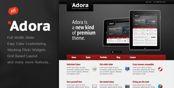 Adora – Premium Business & Portfolio Template