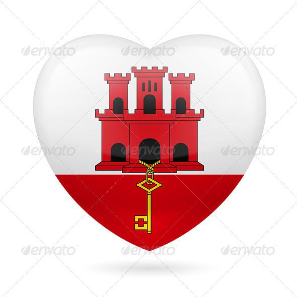Heart icon of Gibraltar