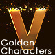 Golden Characters - VideoHive Item for Sale