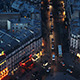 Paris Top View at Sunset - VideoHive Item for Sale