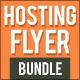 Hosting Flyer Bundle 1 - GraphicRiver Item for Sale