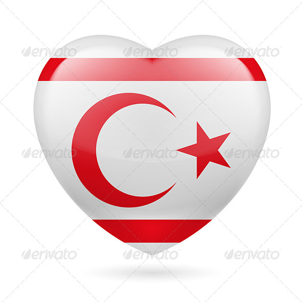 Heart icon of Northern Cyprus
