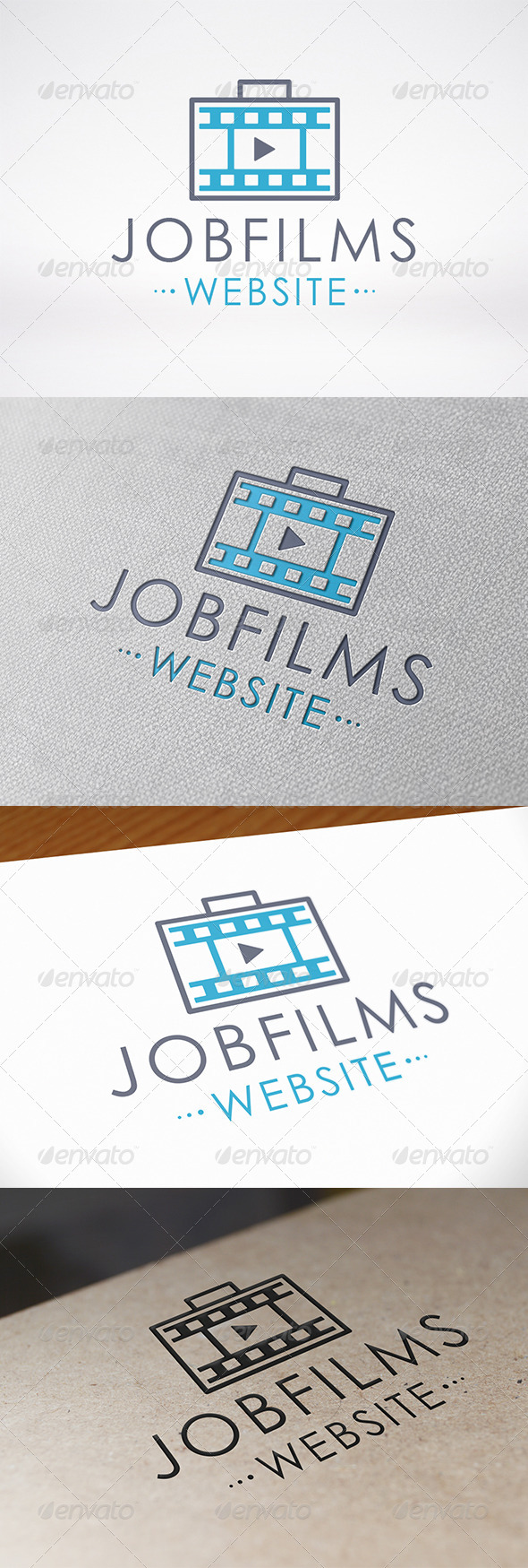 Job Films Logo Template