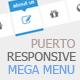 Puerto - Responsive Mega Menu - CodeCanyon Item for Sale