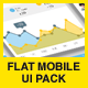 Flat Mobile UI Pack  - GraphicRiver Item for Sale