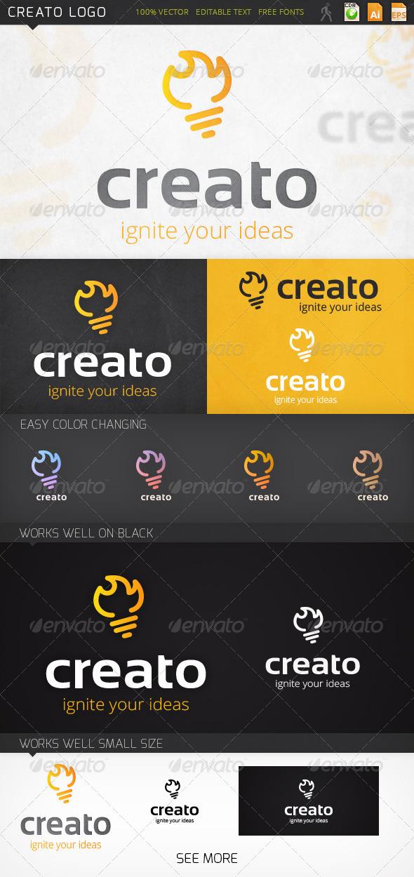 Creato Idea Logo Template