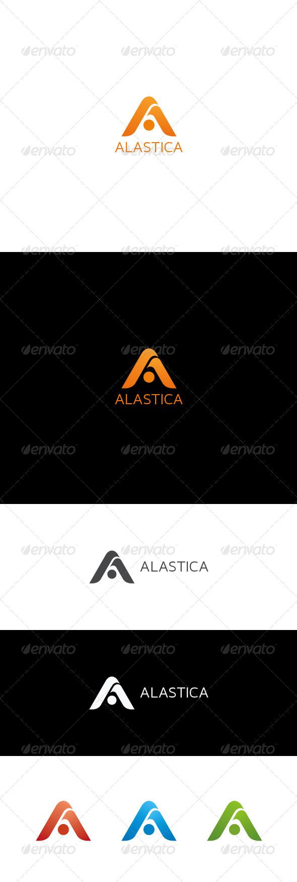 A Letter Logo   ALASTICA