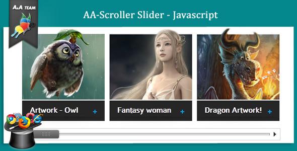 AA-Scroller Slider - Javascript
