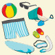 Beach Elements - GraphicRiver Item for Sale