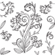 Decorative Floral Pattern with Bluebells - GraphicRiver Item for Sale