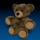Fluffy Teddy Bear - 3DOcean Item for Sale