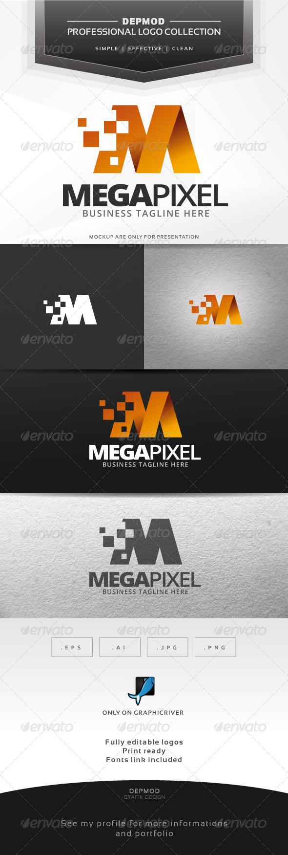 Mega Pixel Logo
