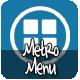Metro Menu - CodeCanyon Item for Sale