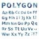 Alphabet. Polygonal Letter Set. - GraphicRiver Item for Sale