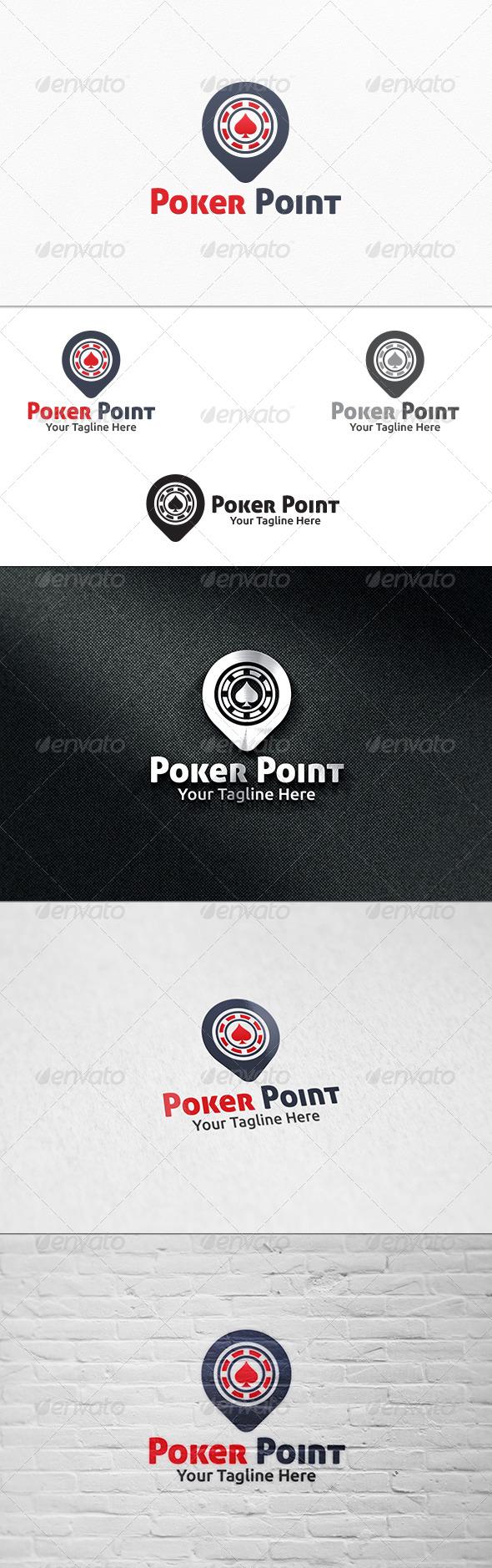 Poker Point - Logo Template