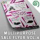 Multipurpose Promotion Sale Flyer Template Vol. 4 - GraphicRiver Item for Sale