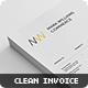 Ultra Clean Invoice - GraphicRiver Item for Sale