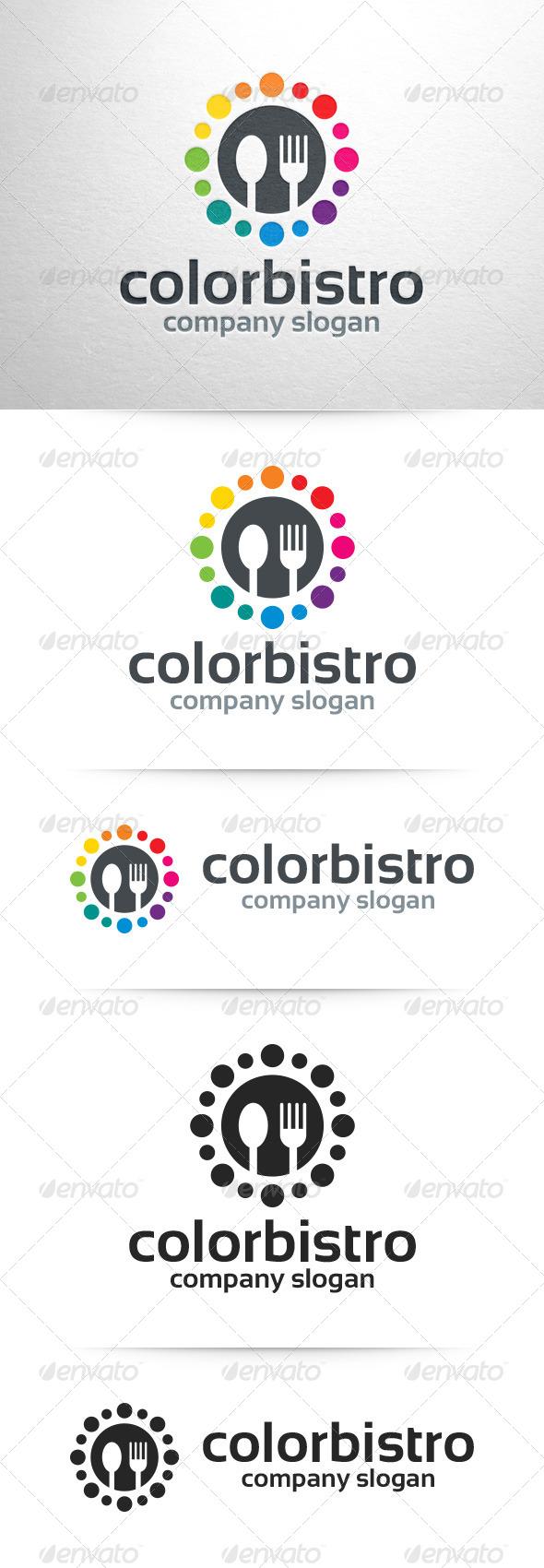 Color Bistro Logo Template