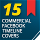 15 Commercial Facebook Timeline Covers Pack - GraphicRiver Item for Sale