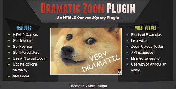 Dramatic Zoom Plugin