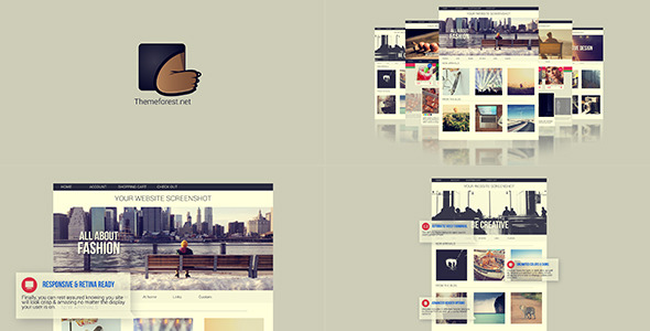 Stylish Website Presentation