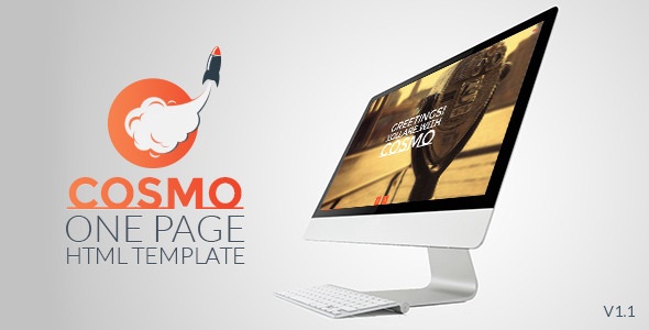 Cosmo - HTML5 One Page Template