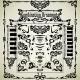 Combination Ornaments in Art Nouveau Style - GraphicRiver Item for Sale