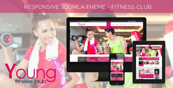 Young Age - Spa & Fitness Joomla Template