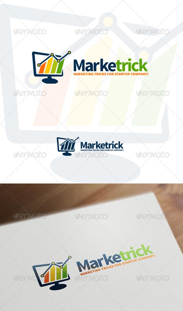 Marketrick - Marketing, Business & Financial Logo