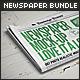 Newspaper Mock-up Bundle - GraphicRiver Item for Sale