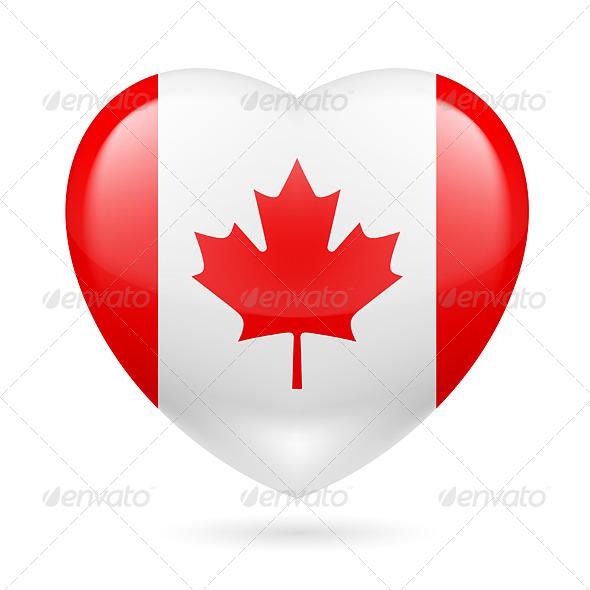 Heart Icon of Canada