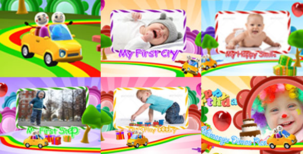 Happy Birthday Intro Video Effects & Stock Videos from VideoHive
