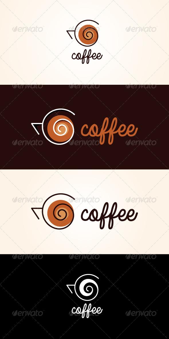 Coffee Stock Logo Template