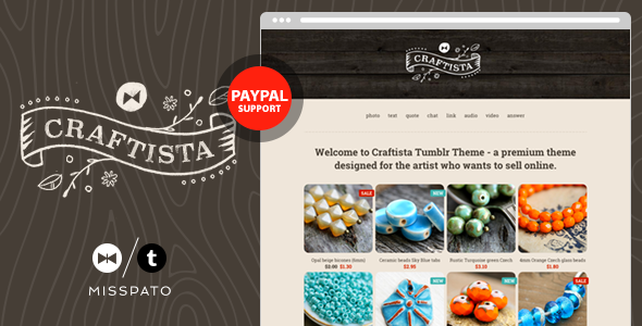 Craftista - eCommerce Tumblr Theme