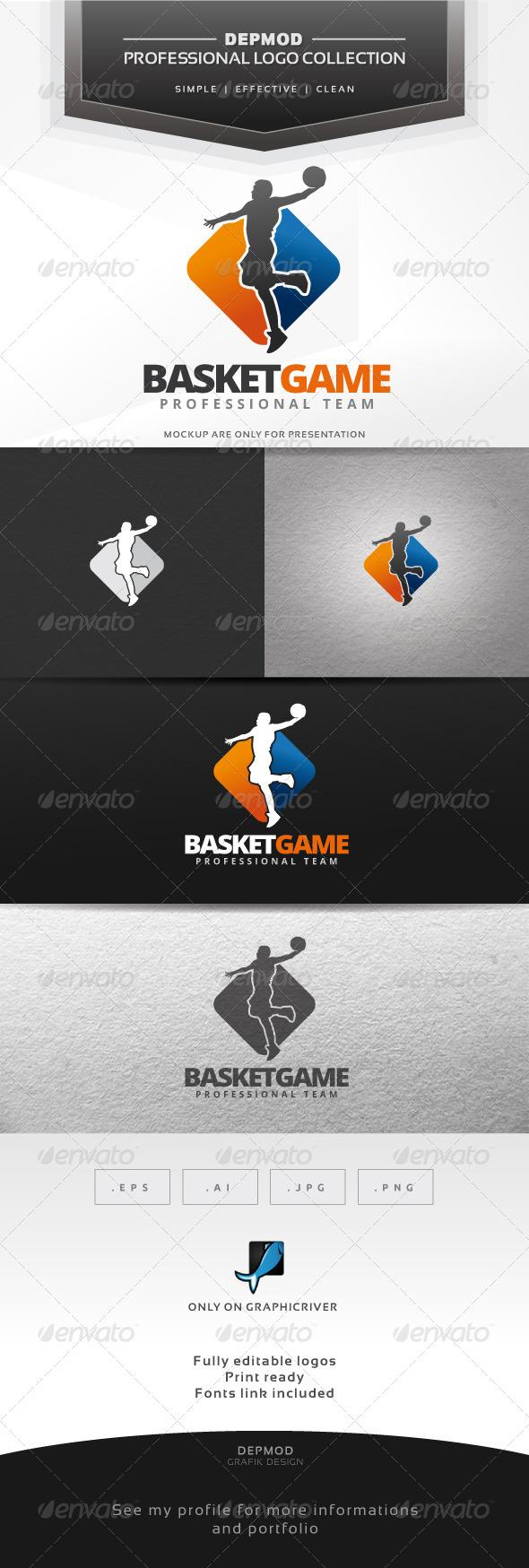 Basket Game Logo