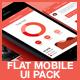Flat Mobile App UI - GraphicRiver Item for Sale