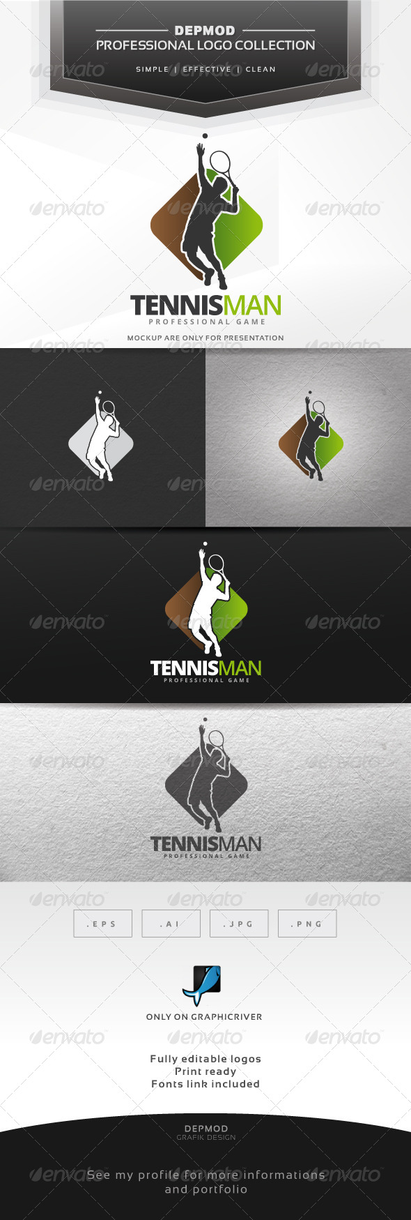 Tennisman Logo
