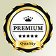 Premium Quality Badges In 3 Styles - GraphicRiver Item for Sale