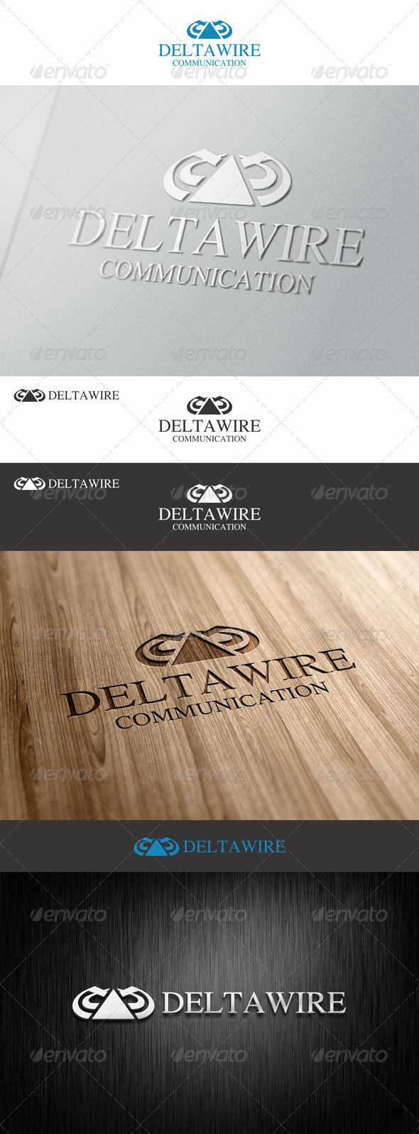 Delta Wire Communication Logo