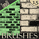 Urban Brush Set | Bricks - GraphicRiver Item for Sale