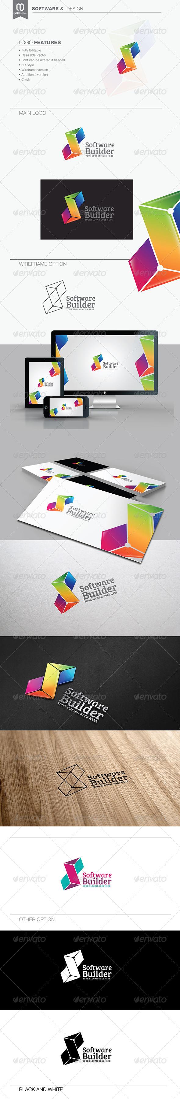 Letter S - Software & Technology Logo