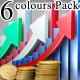 Profit Chart (6 Colours Pack) - VideoHive Item for Sale