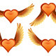 Heart with Wings - GraphicRiver Item for Sale
