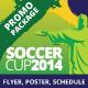 Soccer Trophy 2014 promo - GraphicRiver Item for Sale