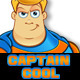 Captain Cool - Superhero Mascot - GraphicRiver Item for Sale