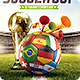 Brazil Soccer Cup 2014 Football flyer - GraphicRiver Item for Sale