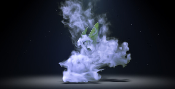 Smoke Logo Reveal